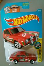 Hot Wheels  HW speed graphics 70 Ford Escort RS1600 Fast and Furious 2016 red