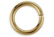 100 Pieces Open Jump Rings 14Kt Gold Filled 3mm 22 Gauge Wholesale DIY Crafting