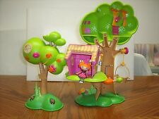 Lalaloopsy Mini doll Treehouse Playset Patch Spot Splatter Splash lot