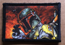 "Star Wars ""Boba Fett"" Bounty Hunter Velcro Morale Patch Molle Tactical Mil-spec"