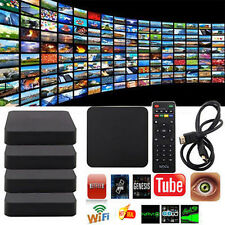 5x Android 4.4 HD 1080P Smart TV BOX XBMC Loaded Quad Core 4K WIFI 8GB US Y