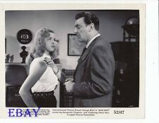 Diana Dors busty, George Brent VINTAGE Photo
