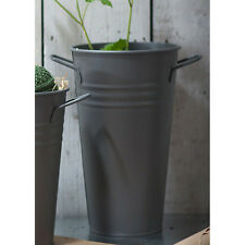 Garden Trading Large Florist Vase in Charcoal