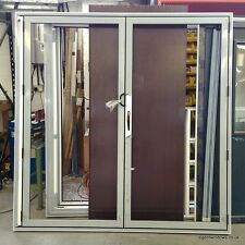 In Stock Bi folding Sliding Patio Doors with internal blinds Aluminium glass
