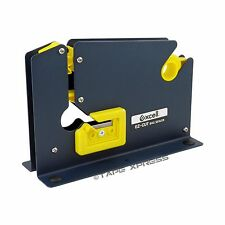 """Excell Metal Dispenser For Bag Sealing Tape 3/8"""" and 1/2"""" With Bag Trimmer"""