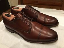 "Worn once! Allen Edmonds ""Yorktown"" in Dark Chili, Size 10.5 D"