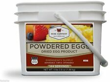 Wise Company 144 Total Servings Powdered Eggs Bucket Survival Food Meals 05-516