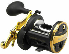 OKUMA MAGNETIX MULTIPLIER FISHING REEL MG20LS BEACHCASTING LEVEL WIND BOAT REEL