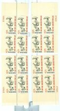 US 1238 City Mail Dellivery 5c  Match set of 4 pb  MNH issued 1963 #27621