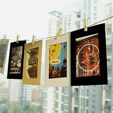 Creative Photo Frames With Clips & Rope Hanging Style Living Room Decor Props