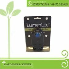 LumenLite 300W Plug In Variable Fan Speed Controller Grow Tent Hydroponics