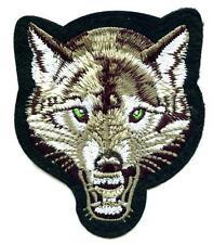 Wolf Aufnäher Patch Back Biker Indianer Timberwolf