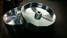 New billet 6 in wheels cub cadet pulling like super cub 1.5 wide wheelie bar