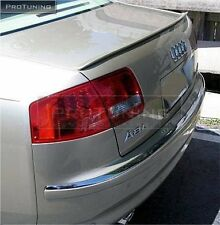 Audi A8 D3 2002-2010 Saloon Boot Trunk Spoiler S Line Lip Wing Trim Lid Sedan 4d