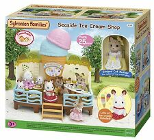 Sylvanian Families Seaside Ice Cream Shop Set