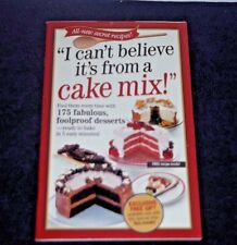 """I can't believe it's from a cake mix"" 175 foolproof desserts"