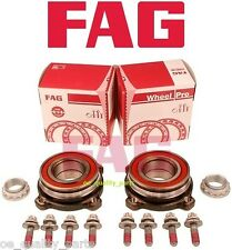 2X LEFT FIGHT REAR WHEEL BEARING HUB FAG BMW 5 E39 TOURING E60 520 525 530 D 523