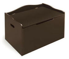Badger Basket Espresso Bench Top Toy Chest 01350 New