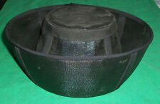 OLD MOURNING HAT PAULINES MILLINERY SAVAG JULIETTE SPRINGFIELD MEADOWBROOK CALIF
