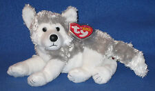 TY AVALANCHE the HUSKY DOG BEANIE BABY - MINT with MINT TAGS