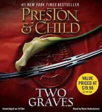 TWO GRAVES unabridged audio book on CD by DOUGLAS PRESTON & LINCOLN CHILD