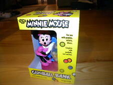 1990's Walt Disney Tim Mee Toy Minnie Mouse Gumball Bank New In Box