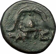 DEMETRIOS I Poliorketes MACEDONIA King Shield Helmet Ancient Greek Coin i57664
