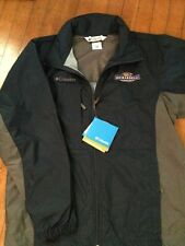 Columbia Windbreaker Adult Medium Ghirardelli Chocolate New NWT Navy Grey RARE!