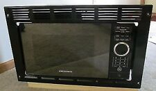 RV Motorhome Greystone Black Built-in Microwave Oven 0.9 Cu Ft Trim Frame