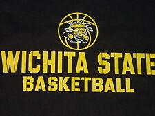 WSU WICHITA STATE University  SHOCKERS BASKETBALL T-Shirt NWT sz..   XLarge  XL