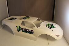 NEW BODY SHELL FOR TRAXXAS E-REVO 1/10- GLOSS WHITE