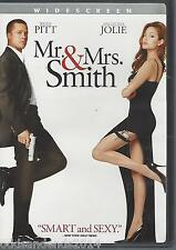 Mr. and Mrs. Smith (DVD, 2009, Widescreen) Brad Pitt, Angelina Jolie