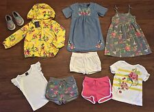 BABY GAP SIZE 4 4T NWT WIND BREAKER COAT DENIM FLORAL DRESS SHOES SHORTS TOPS