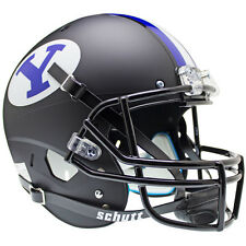 BYU COUGARS BLACK SCHUTT XP FULL SIZE REPLICA FOOTBALL HELMET