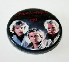 Rare Vintage The Police & Sting 1987 Music Group Rock Band Tour Pin Button