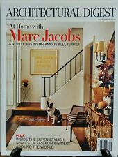 Architectural Digest September 2016 At Home With Marc Jacobs FREE SHIPPING sb