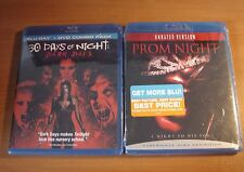 "30 DAYS OF NIGHT(Used) & PROM NIGHTS(New) ""Horror Movies"" *2-BLU-RAY Set Lot"