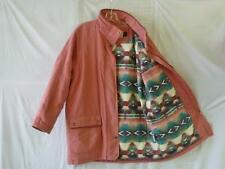 WOOLRICH~Thinsulate Aztec Navajo South Western Lined~Indian Head Snap Coat~L/XL