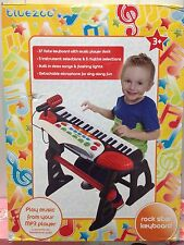 Bluezoo Kids/Children's Rockstar Keyboard with MP3 Jack - New Other