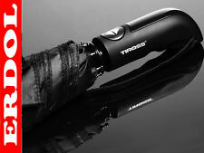 Tiross Automatic Open&Close UNISEX Umbrella Black New Shape SUPER STRONG QUALITY