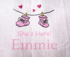 """PERSONALIZED EMBROIDERED SHES HERE MUSLIN"""