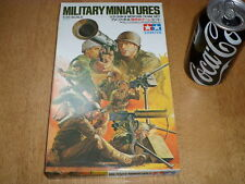 WW#2, U.S. GUN & MORTAR TEAM SET, TAMIYA Miniatures PLASTIC KIT, Scale 1/35