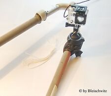 FREAK-MOUNT: 2nd-GEN. GoPro and Actionpro mast / boom mount, bike, windsurfing,,