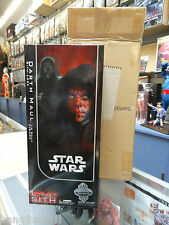 "Star Wars Darth Maul 12"" figure 1/6 Sideshow Exclusive Edition MIB"