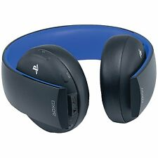 Sony Playstation Gold Wireless Stereo Headset (Jet Black, PS4, PS3, PSVita) NEW!