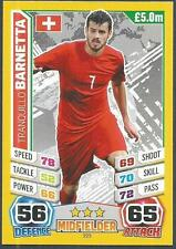 TOPPS MATCH ATTAX  BRAZIL 2014 WORLD CUP- #223-SWITZERLAND-TRANQUILLO BARNETTA