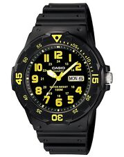 Casio Watch * MRW200H-9BV Diver Look 100WR Black & Yellow COD PayPal