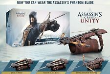 Assassins Creed 5 Unity Arno's Phantom Hidden Blade Crossbow Replica Cosplay NIB