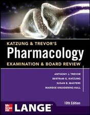 Pharmacology Examination and Board Review by Anthony Trevor, Marieke US 10th ed