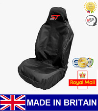 ST CAR SEAT COVER PROTECTOR SPORTS BUCKET HEAVY DUTY WATERPROOF - FORD FOCUS ST